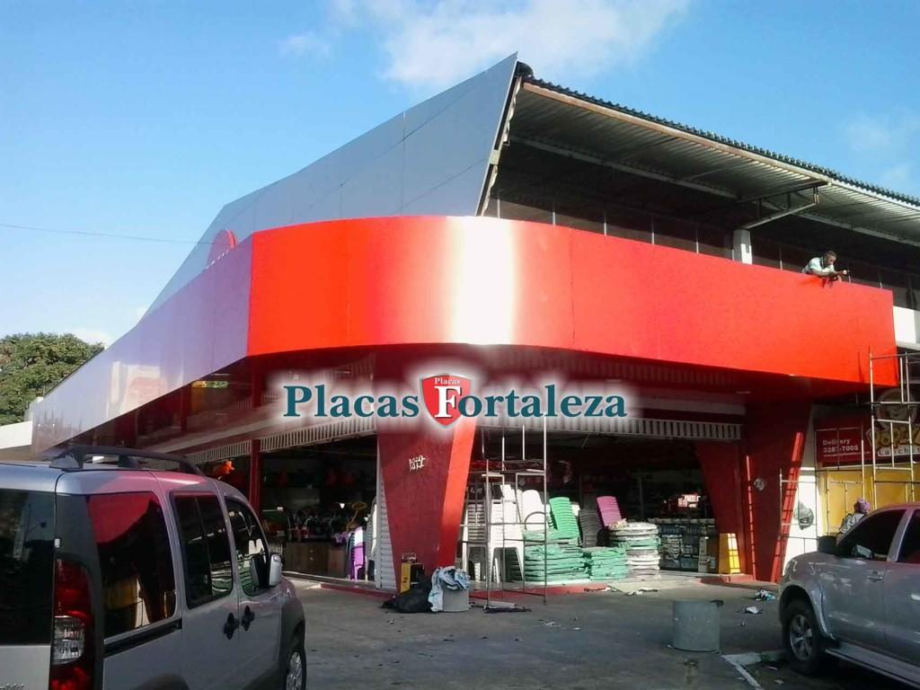 Famosos Fachada de ACM em Fortaleza - Placas Fortaleza Empresa de  UG33